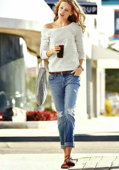 inspiration: distressed jeans (via Bloglovin.com )