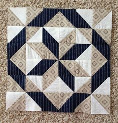 In this format this block is also known as FOUR PART STRIP BLOCK.   Since I have several friends starting their seam adventures an...