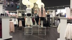 Merchandising and styling A/W14 Nu Luxe Newlook Meadowhall