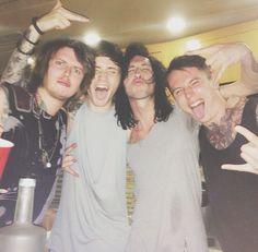 Ben, Denis, Cam and James