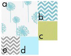 Custom 3 piece Baby Bedding SetCrib skirt by tweetbytheseadesigns, $289.00
