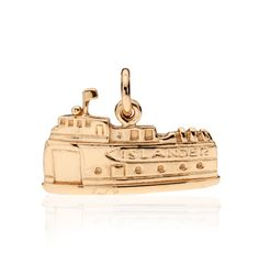 CBStark Jewelers - Islander Ferry charm in 14k gold, $475.00 (http://www.cbstark.com/jewelry/islander-ferry-charm-in-14k-gold/)