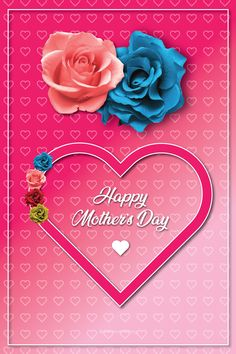 Mother's Day Card Happy Mother's Day Card, Happy Mothers Day, Marketing Services, Cards, Free, Mother's Day, Maps, Playing Cards