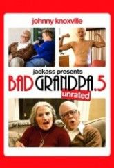 """Bad Grandpa .5 gives you a whole new perspective on the world of Irving Zisman with bonus scenes and pranks also featuring Spike Jonze as """"Gloria"""" and Catherine Keener as Irving's wife """"Ellie"""", plus a look at the evolution of Johnny Knoxville's naughty alter-ego, the makeup effects, and a behind-the-scenes peek at the idiocy it takes to make a hidden  http://zeestream.net/watch/jackpass-presents-bad-grandpa-5/online"""