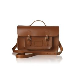 Cambridge Satchel Co: The Batchel with engraved initials