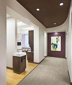Sink  Pearl Dentistry - Dental Office Design by JoeArchitect in Denver Colorado