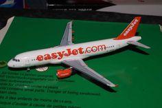 Aeroclassics / Gemini Jets 1/400 EasyJet A320 HB-JZR