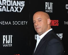 "Vin Diesel attends The Cinema Society with Men's Fitness & FIJI Water screening of ""Guardians of the Galaxy"" in New York, on July 29, 2014 at The Crosby Hotel. Check out other celebs spotted at The Crosby Hotel! http://celebhotspots.com/hotspot/?hotspotid=5366&next=1"