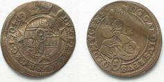 1704 Olmütz RDR - OLMÜTZ Kreuzer 1704 KARL III. v. LOTHRINGEN Billon # 94856 ss Flan, Ss, Personalized Items, Pudding, Creme Brulee