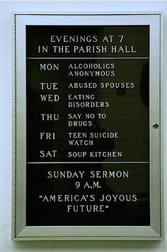 Hilariously Awkward Church Signs That May Send Someone to Hell - grabberwocky