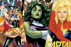 Marvel's Female-Superhero Renaissance -- Vulture