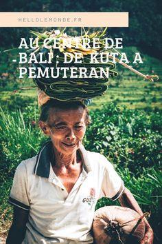 Que voir et que visiter dans le centre de l'île de Bali en une journée ? De Kuta à Pemuteran, le centre regorge de superbes sites naturels, rizières en terrasses, cascades... Disneyland, Voyage Bali, Les Cascades, Kuta, Blog Voyage, Centre, Movie Posters, Movies, Terraces