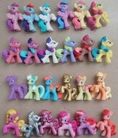 4-5cm tall baby toy girl#39 s gift doll HasBro horse mini Pony treasure, my little pony 5pcs/Lot toy