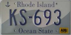 Rhode Island This plate won a design award. It's very graphic and simplistic. License Plate Designs, Car Tags, Design Awards, Rhode Island, Licence Plates, Journey, United States, Ocean, Creativity