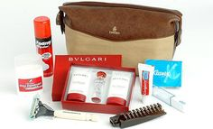 Top five first class airline amenity kits that lure fliers with Bulgari and La Prairie products