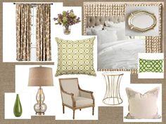 """Farmhouse"" Glam Bedroom"