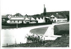 Salvis Produktion bis 1996 in Reussbühl-Luzern Sidewalk, Mansions, House Styles, Home Decor, Lucerne, Decoration Home, Room Decor, Side Walkway, Sidewalks