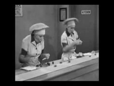 I Love Lucy ~ Chocolate Scene