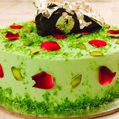 Cook Paan Cake in the comfort of your home with BetterButter. Tap to view the recipe! Eggless Desserts, Eggless Baking, Easy Desserts, Vegan Baking, Cupcake Recipes, Cookie Recipes, Cupcake Cakes, Snack Recipes, Cake Receipe