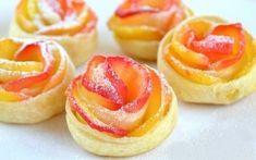 """Как приготовить блюдо """"слойки с яблоками «розочки»"""" - рецепт, ингридиенты и фотографии   sloosh"""