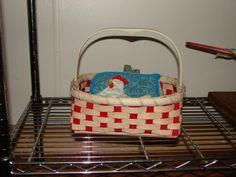 Longaberger basket  Feb 2009
