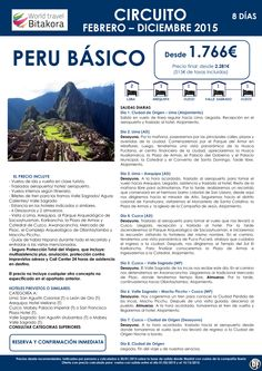 PERÚ: Peru Esencial desde 1.720€ + tasas ultimo minuto - http://zocotours.com/peru-peru-esencial-desde-1-720e-tasas-ultimo-minuto-4/