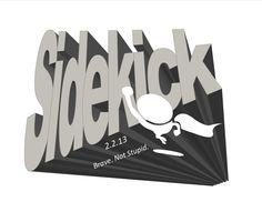New Sidekick Logo for 2013 event!