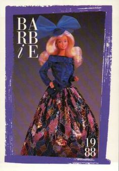 Barbie-Collectible-Fashion-Card-Private-Collection-Fashions-1988