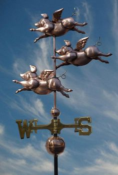 I WANT THIS!!!!  flying pigs - Bing Images