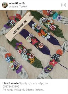 This post was discovered by TC Handmade Felt, Handmade Jewelry, Hobbies And Crafts, Diy And Crafts, Cultural Crafts, Fabric Jewelry, Crochet Accessories, Fabric Crafts, Crochet Projects