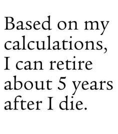 Sad... but true!
