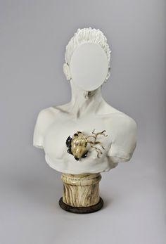 ceramic sculptures by marc alberghina