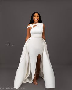 Get Ready to Pin These Wedding-Worthy Looks from Bibi Bella by Bibi Lawrence and Ink Eze African Wear Dresses, African Wedding Dress, Maxi Dress Wedding, Latest African Fashion Dresses, African Print Fashion, Lace Prom Gown, African Weddings, Bride Reception Dresses, Wedding Reception