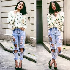 How Gorg does Blogger @alessandrakamaile look in Drop Dead's Buzzing Jumper, Go over to http://alessandrakamaile.blogspot.de/ to see what she thinks of it.