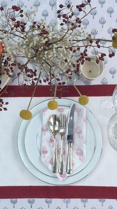 Printed Napkins, Napkins Set, Blue Flowers, Pure Products, Table Decorations, Home Decor, Decoration Home, Room Decor, Home Interior Design