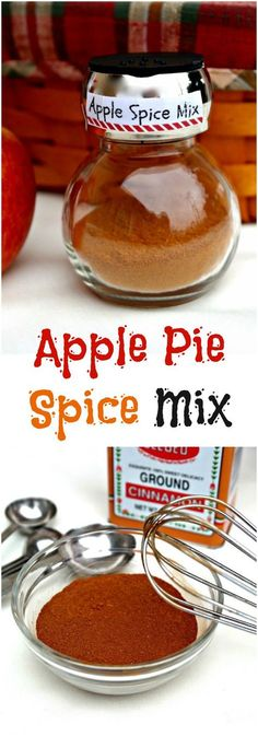 Homemade Apple Pie Spice Mix for all your favorite recipes you enjoy during autumn - The Foodie Affair