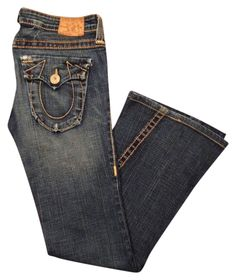 True Religion Flare Leg Jeans. Get the lowest price on True Religion Joey Big T Flare Leg Jeans and other fabulous designer denim styles! Shop Tradesy now