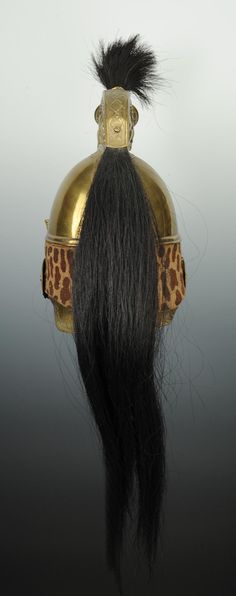 CASQUE DE DRAGONS, MOD�LE 1845, SECOND EMPIRE.