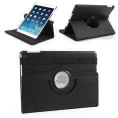 360 Degree Rotating Litchi Leather Case