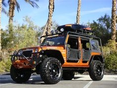 Cool~CUSTOM JEEP WRANGLER