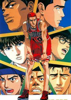 """""""Slam Dunk""""  Grandes personajes, gran protagonista, Partidos épicos y batallas para derramar lagrimas. Un final inconcluso, que da pie a la lectura del manga, dejando claro que el autor del manga es un artista capaz de trasmitir una lluvia de emociones en cada viñeta."""