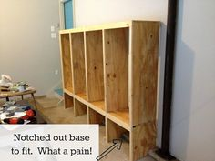 DIY Mudroom Lockers {Garage Mudroom Makeover} – East Coast Creative Blog
