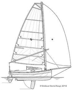Fundy Cat 16 Sailboat Plans, Small Sailboats, Diy Boat, Canoe And Kayak, Wooden Bird, Boat Design, Boat Building, Solar Panels, Travel Style
