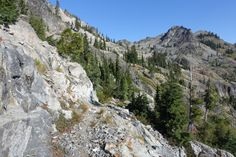The PCT in the Marble Mountain Wilderness