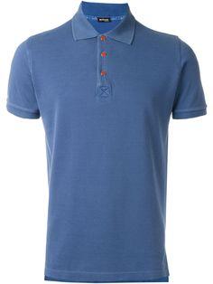 b43f7cf9ef6 Kiton Camisa polo mangas curtas Polo Shirts