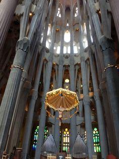 The Basílica i Temple Expiatori de la Sagrada Família, Barcelona, Spain 2014