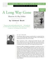 """Printable teacher's guide for """"A Long Way Gone,"""" a startling memoir by a former child soldier. Ishmael Beah tells the harrowing story of fighting in Sierra Leone's brutal civil war, which lasted from 1991 until 2002. (Grades 9-12)"""