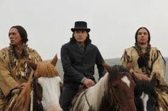 Wes Studi, Eddie Spears and Gerald Auger in Hell on Wheels Spears