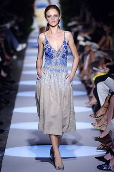 Badgley Mischka Spring 2006 Ready-to-Wear Fashion Show - Cintia Dicker
