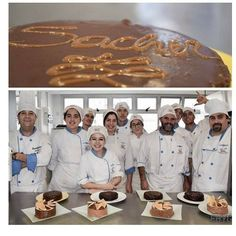 Chef 2do año. Clase de Repostería #tortasacher #tortadobos . 🍫🍫#ehygmdq #pasteleriaartesanal #pastry #pasteleriamdq #foodporn